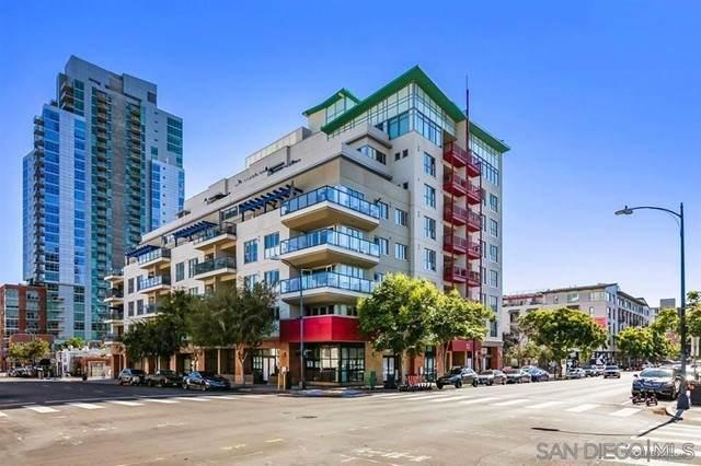 875 G St #512, San Diego, CA 92101 (#210012520) :: Mint Real Estate