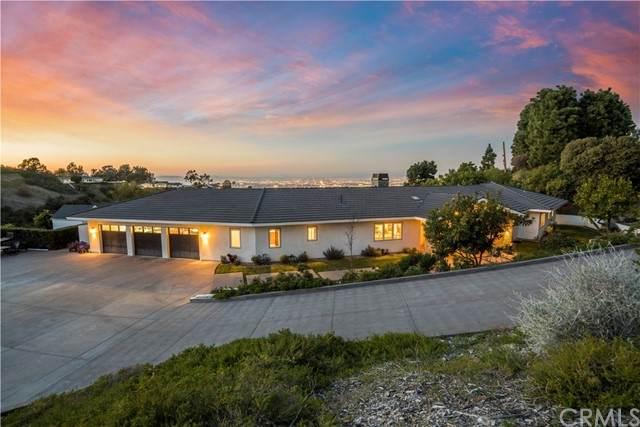 4 N Quail Ridge Road N, Rolling Hills, CA 90274 (#PV21042583) :: Millman Team