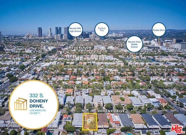 332 S Doheny Drive, Beverly Hills, CA 90211 (#21727116) :: Twiss Realty