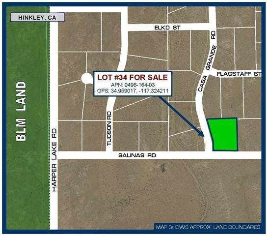 0 Salinas Road, Hinkley, CA 92347 (#535204) :: McKee Real Estate Group Powered By Realty Masters & Associates