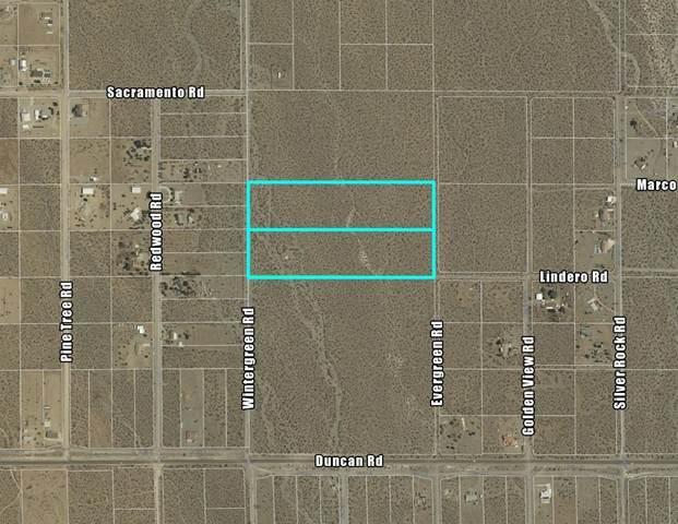 0 Wintergreen Road, Pinon Hills, CA 92372 (#535207) :: Compass