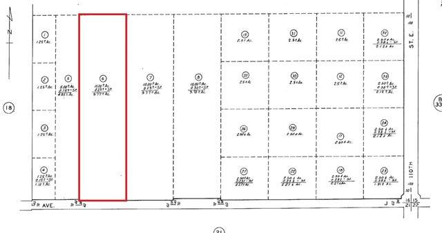 0 Avenue J And 107th St East, Lancaster, CA 93535 (#SR21104738) :: Power Real Estate Group