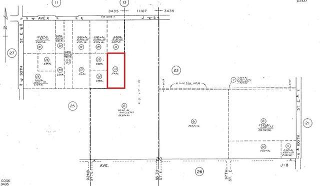0 93rd St East And, Lancaster, CA 93535 (#SR21104754) :: Power Real Estate Group