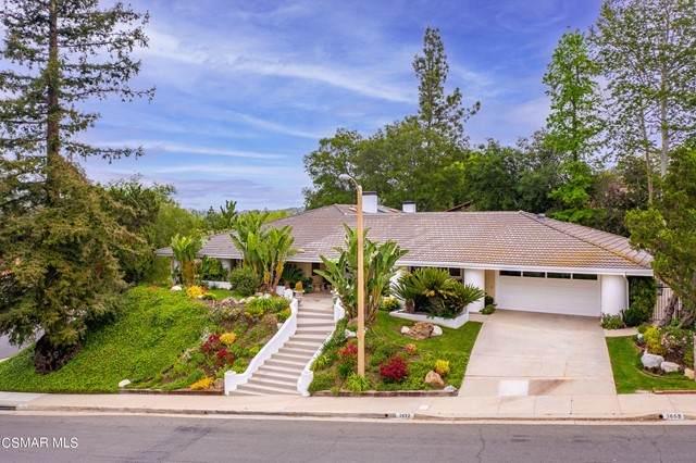 3672 Twin Lake, Westlake Village, CA 91361 (#221002619) :: Wahba Group Real Estate | Keller Williams Irvine
