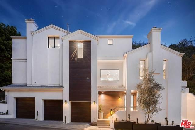 8130 Willow Glen Road, Los Angeles (City), CA 90046 (#21732588) :: CENTURY 21 Jordan-Link & Co.