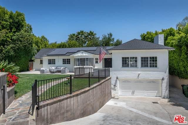 16633 Oak View Drive, Encino, CA 91436 (#21732550) :: CENTURY 21 Jordan-Link & Co.
