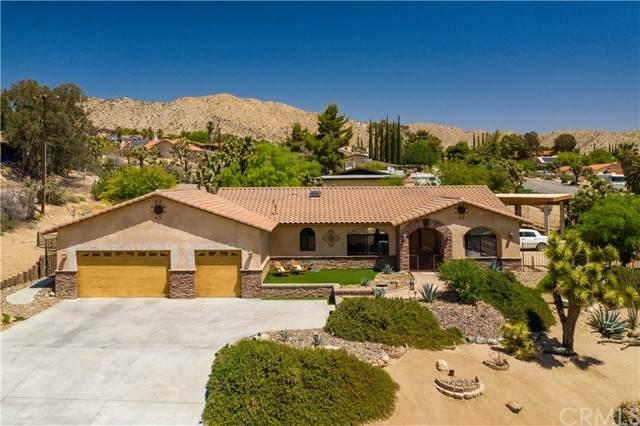 7695 Rockaway Avenue, Yucca Valley, CA 92284 (#JT21105353) :: Berkshire Hathaway HomeServices California Properties