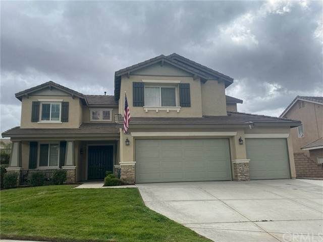 28823 First Star Court, Menifee, CA 92584 (#SW21105707) :: Rogers Realty Group/Berkshire Hathaway HomeServices California Properties