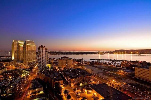 700 W E St #3301, San Diego, CA 92101 (#210013413) :: Powerhouse Real Estate