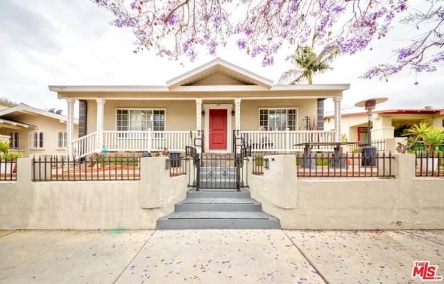 147 S Gramercy Place, Los Angeles (City), CA 90004 (#21734102) :: Team Tami