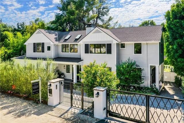 4627 Encino Avenue, Encino, CA 91316 (#SR21114243) :: Berkshire Hathaway HomeServices California Properties
