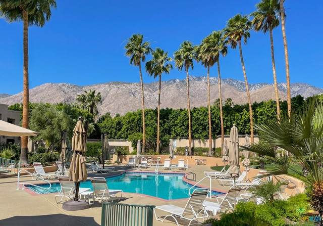 1555 N Chaparral Road #101, Palm Springs, CA 92262 (#21740916) :: Zember Realty Group