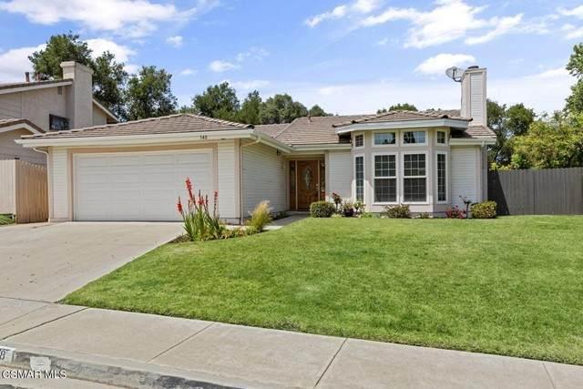 548 Canyon Vista Drive, Thousand Oaks, CA 91320 (#221002944) :: Wahba Group Real Estate | Keller Williams Irvine