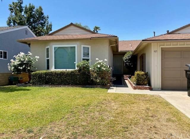421 Catalpa Avenue, Brea, CA 92821 (#PW21118142) :: Wahba Group Real Estate | Keller Williams Irvine