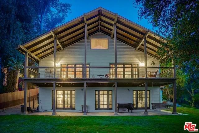 19722 Grand View Drive, Topanga, CA 90290 (#21744516) :: Power Real Estate Group