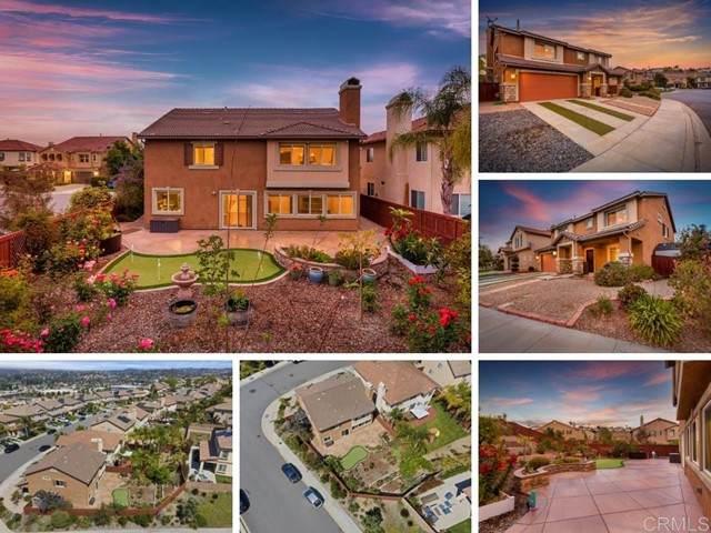 813 Via La Venta, San Marcos, CA 92069 (#NDP2106420) :: Wahba Group Real Estate | Keller Williams Irvine
