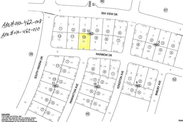 2548 Rainbow Drive, Salton City, CA 92275 (#219063127DA) :: The Marelly Group | Sentry Residential