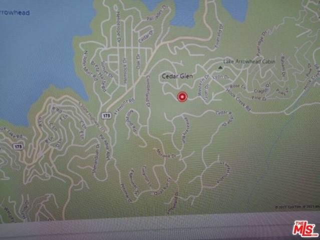 0 Alder Lane, Cedar Glen, CA 92321 (#21745646) :: Zember Realty Group