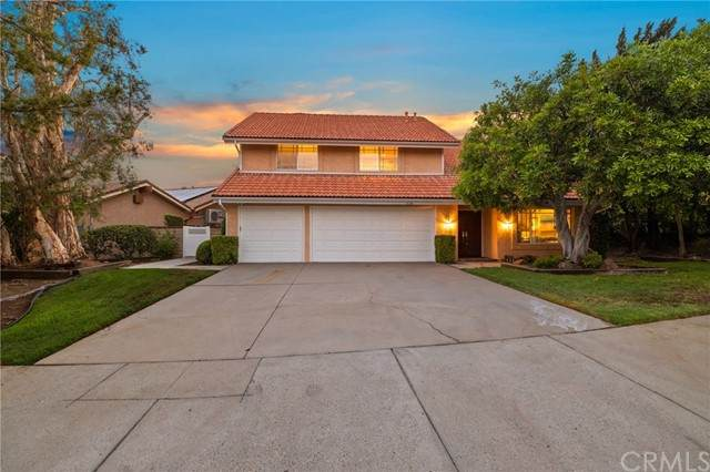 12153 Kristopher Place, Porter Ranch, CA 91326 (#AR21122572) :: Wahba Group Real Estate | Keller Williams Irvine