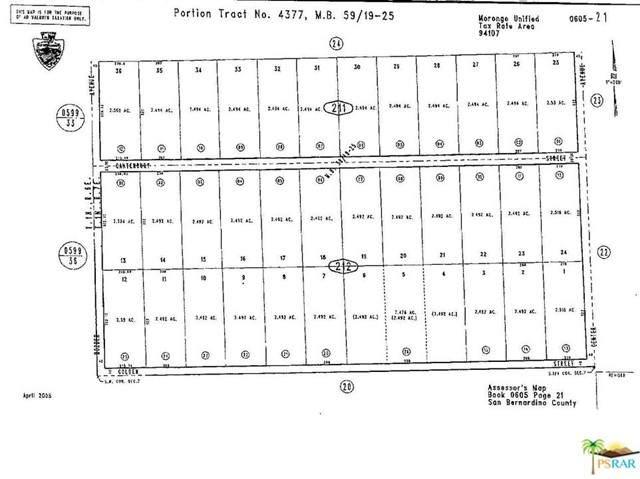 0 Canterbury Street, Joshua Tree, CA 92252 (#21742186) :: The Marelly Group   Sentry Residential