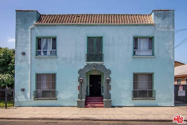 440 E 27Th Street, Los Angeles (City), CA 90011 (#21746910) :: A|G Amaya Group Real Estate