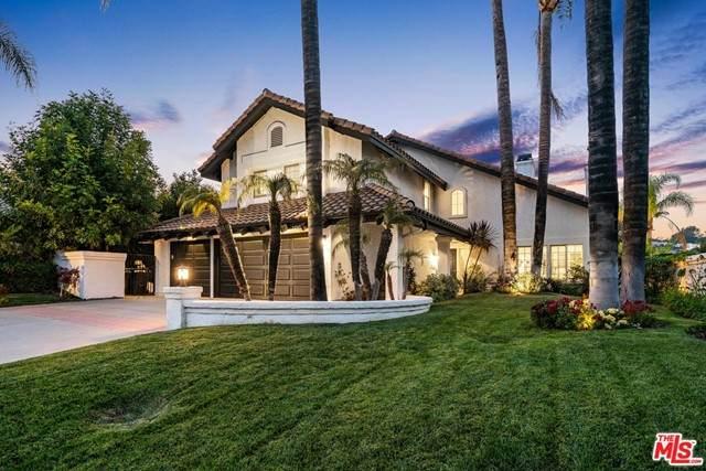 24747 Via Pradera, Calabasas, CA 91302 (MLS #21745336) :: Desert Area Homes For Sale
