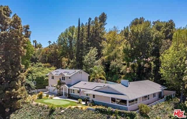 16600 Adlon Road, Encino, CA 91436 (#21746402) :: Zember Realty Group