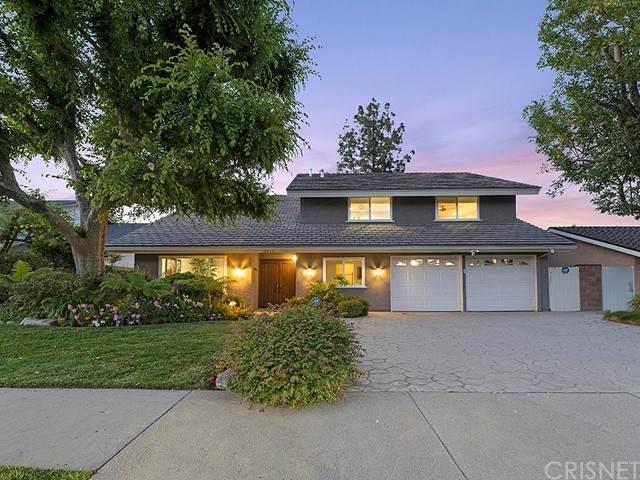 18833 Kirkcolm Lane, Porter Ranch, CA 91326 (#SR21122507) :: Wahba Group Real Estate | Keller Williams Irvine