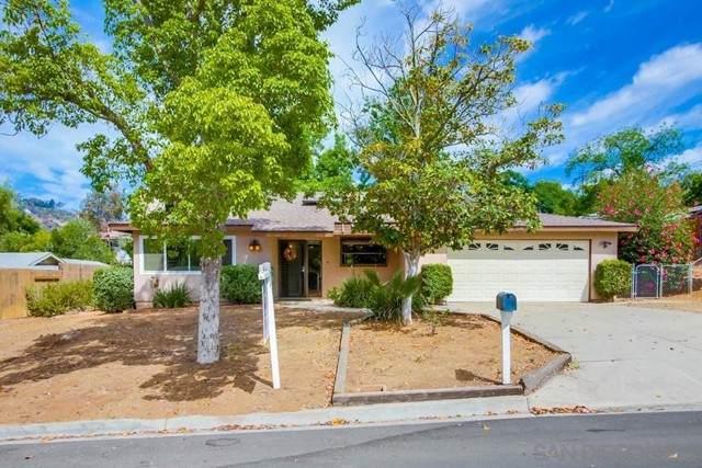 8420 Protea Dr, Lakeside, CA 92040 (#210016011) :: Wahba Group Real Estate | Keller Williams Irvine