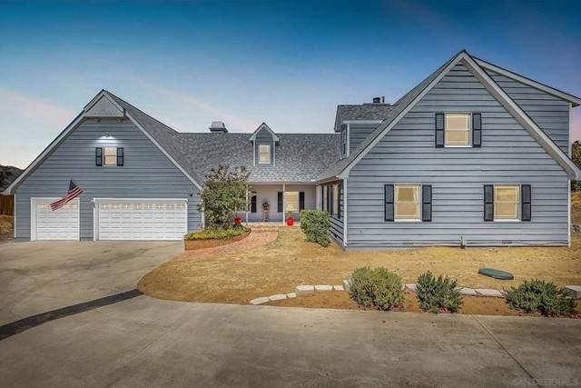 9460 Rockcrest Ln, Lakeside, CA 92040 (#210016056) :: Wahba Group Real Estate | Keller Williams Irvine