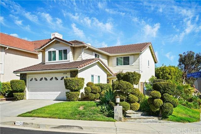19714 Eagle Ridge Lane, Porter Ranch, CA 91326 (#SR21126023) :: Wahba Group Real Estate | Keller Williams Irvine