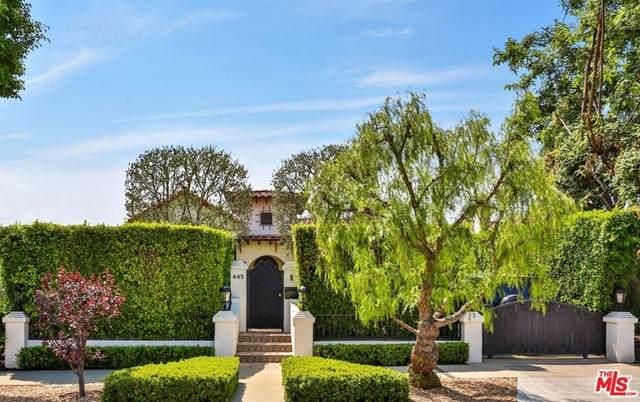 445 N Edinburgh Avenue, Los Angeles (City), CA 90048 (#21747556) :: Legacy 15 Real Estate Brokers