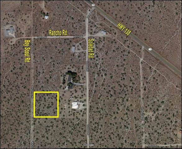 0 Boy Scout Road, Pinon Hills, CA 92372 (#536146) :: Twiss Realty