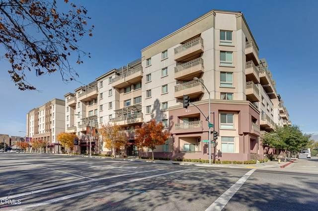 931 E Walnut Street #106, Pasadena, CA 91106 (#P1-5177) :: Wahba Group Real Estate | Keller Williams Irvine