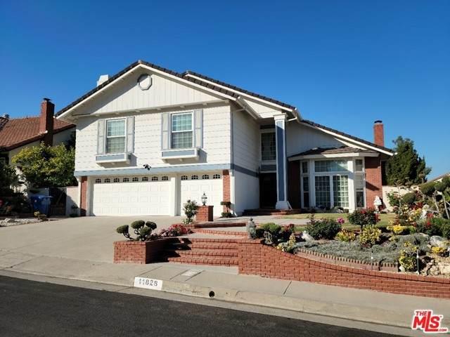 11828 Darby Avenue, Porter Ranch, CA 91326 (#21747780) :: Wahba Group Real Estate | Keller Williams Irvine