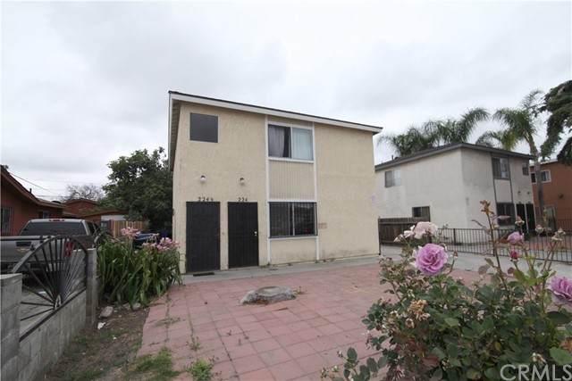 224 W 88th Place, Los Angeles (City), CA 90003 (#CV21127592) :: The DeBonis Team