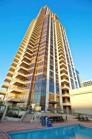700 W E St #1803, San Diego, CA 92101 (#210016508) :: Berkshire Hathaway HomeServices California Properties