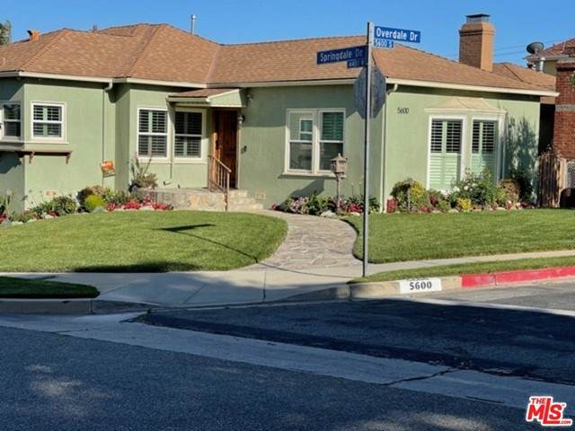 5600 Overdale Drive, Los Angeles (City), CA 90043 (#21749242) :: Powerhouse Real Estate