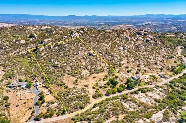 0 Mahogany Ranch Rd, Ramona, CA 92065 (#210016573) :: Berkshire Hathaway HomeServices California Properties
