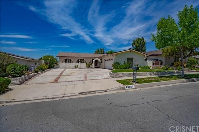 22352 Barbacoa Drive, Saugus, CA 91350 (#SR21130160) :: The Kohler Group
