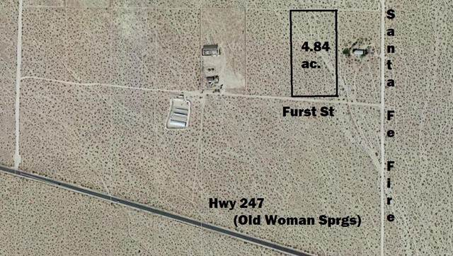 0 Furst Street, Lucerne Valley, CA 92356 (#536283) :: Holmes Muirhead Team at Reviron Realty