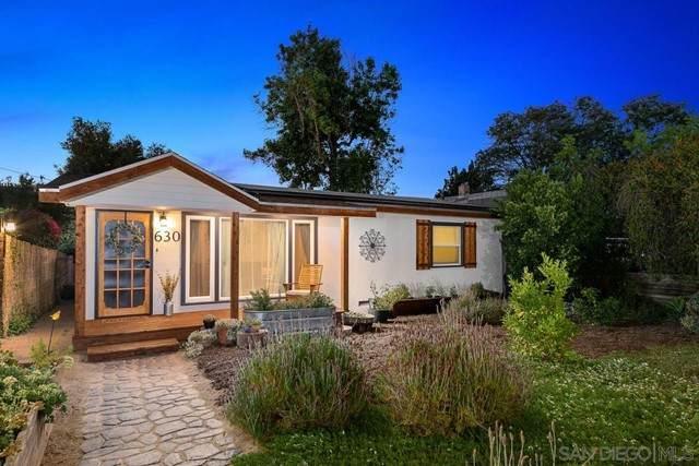 630 E 4Th Ave, Escondido, CA 92025 (#210016712) :: Blake Cory Home Selling Team