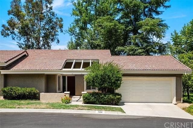 584 Via Novella, Oak Park, CA 91377 (#SR21128358) :: Blake Cory Home Selling Team