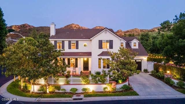 1546 Caitlyn Circle, Westlake Village, CA 91361 (#221003298) :: Zen Ziejewski and Team