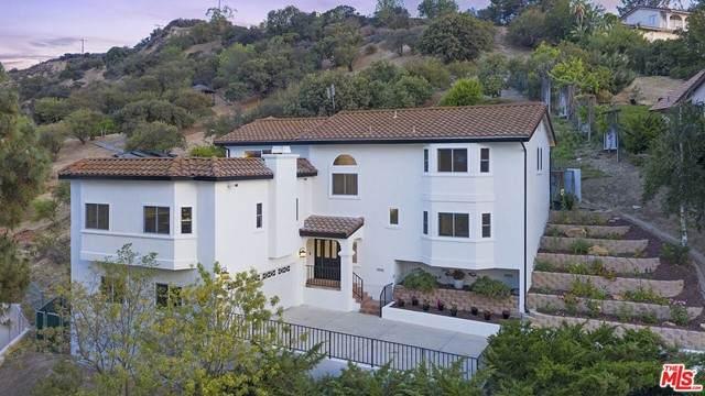 21824 Ambar Drive, Woodland Hills, CA 91364 (#21750270) :: Zen Ziejewski and Team