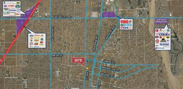 0 3rd Avenue, Hesperia, CA 92345 (#536297) :: Realty ONE Group Empire