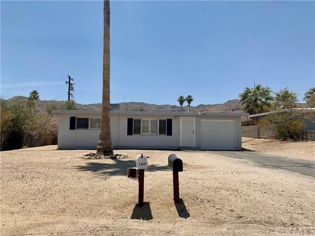 71645 Cactus Drive, 29 Palms, CA 92277 (#JT21130985) :: The Laffins Real Estate Team