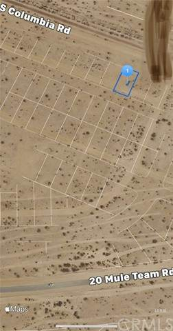 0 Spaulding Drive, California City, CA 93505 (#IV21132017) :: Realty ONE Group Empire