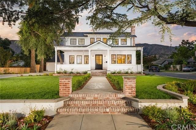 407 W Bennett Avenue, Glendora, CA 91741 (#CV21120739) :: Mainstreet Realtors®