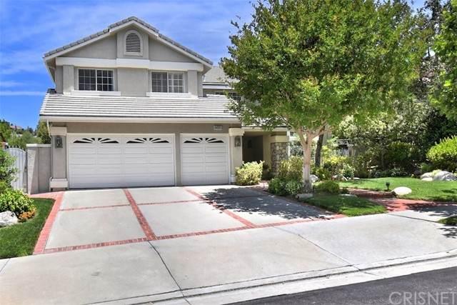 12458 Cascade Canyon Drive, Granada Hills, CA 91344 (#SR21132499) :: Blake Cory Home Selling Team